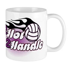 Volleyball 2 Hot 2 Handle Mug