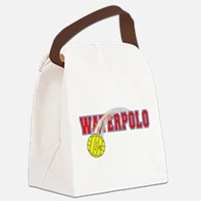 Waterpolo Ball Canvas Lunch Bag