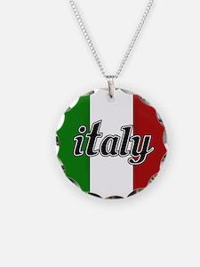Italy Logo Necklace