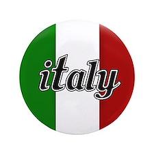 """Italy Logo 3.5"""" Button"""