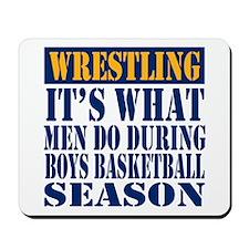 Boys Basketball Season Mousepad