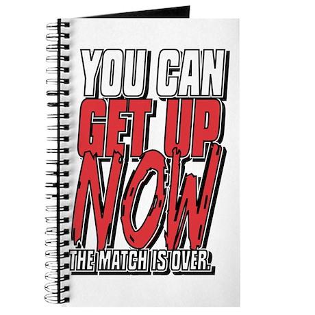 Wrestling Get Up Now Journal