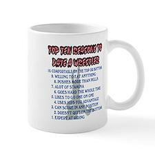 Wrestling Top Ten Date Reasons Mug