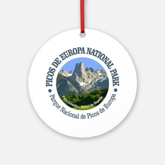 Picos de Europa NP Round Ornament
