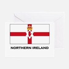 Northern Ireland Flag Merchandise Greeting Cards (