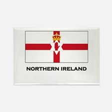 Northern Ireland Flag Merchandise Rectangle Magnet