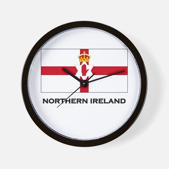 Northern Ireland Flag Merchandise Wall Clock