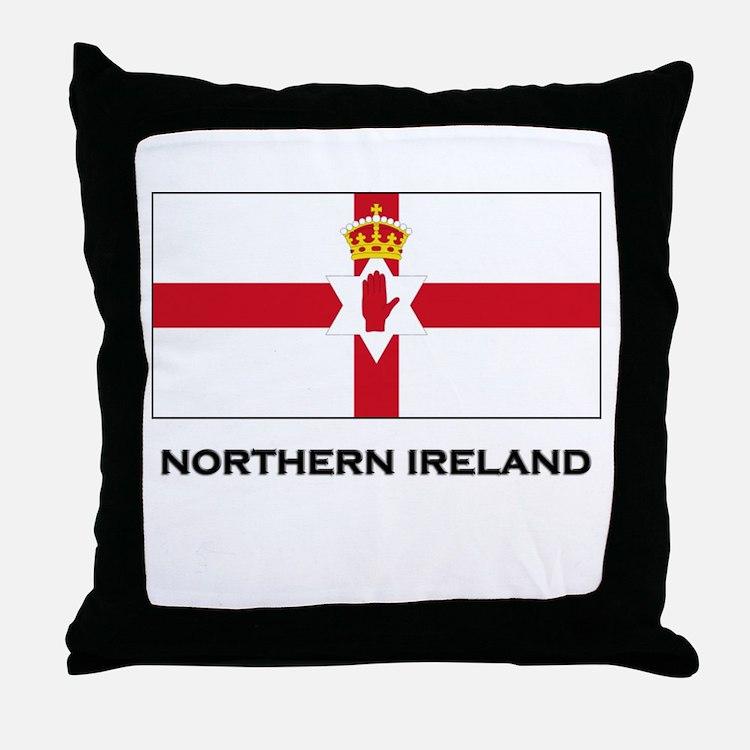 Northern Ireland Flag Merchandise Throw Pillow
