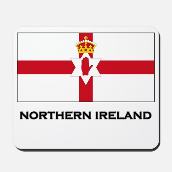 Northern Ireland Flag Merchandise Mousepad