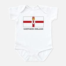 Northern Ireland Flag Merchandise Onesie