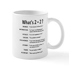 2 plus 2 Mugs