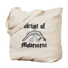 Artist of movement Tote Bag
