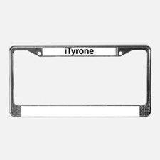 iTyrone License Plate Frame