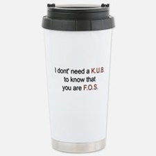 Cute Barium Travel Mug