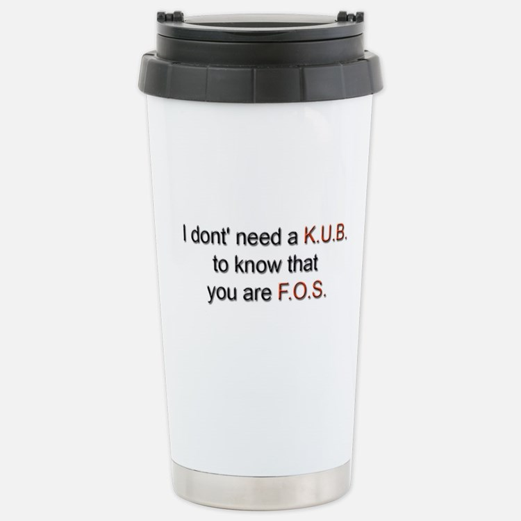 Cute Kub Travel Mug