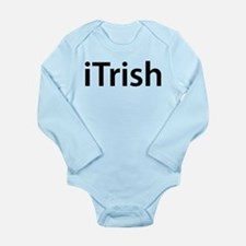 iTrish Long Sleeve Infant Bodysuit