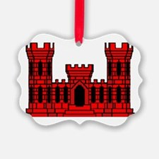 Cute Engineer castle Ornament