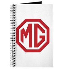 Red MG Octagon Journal