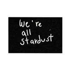 We're All Stardust Rectangle Magnet