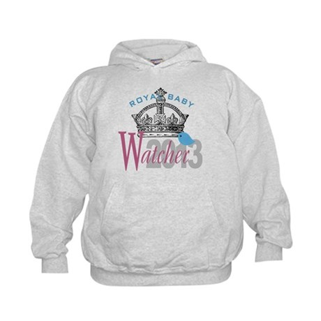 Royal Baby Watcher 2013 Kids Hoodie