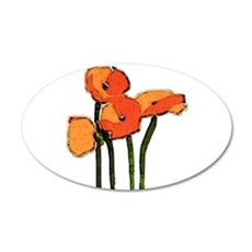 poppies 1 Wall Decal