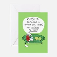 Dog's Letter to Santa Greeting Cards (Pk of 10)