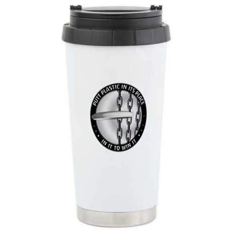 Putt Plastic In Its Pla Stainless Steel Travel Mug