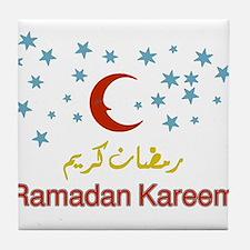 Cute Ramadan Tile Coaster