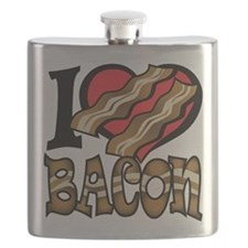 I Love Bacon Flask