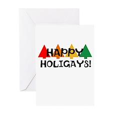 Happy Holigays Greeting Card