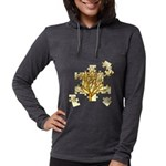 treepuzzle_4x4.png Womens Hooded Shirt