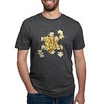 treepuzzle_4x4.png Mens Tri-blend T-Shirt