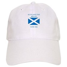 Scotland the Bright Vote Yes Baseball Cap