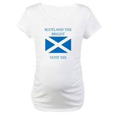 Scotland the Bright Vote Yes Shirt