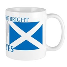 Scotland the Bright, vote yes. Mug