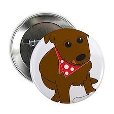 """Puppy Love 2.25"""" Button"""