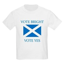 Vote Bright Vote Yes T-Shirt