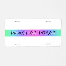Funny Spirituality Aluminum License Plate