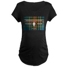 Vote Bright Vote Yes with Tartan T-Shirt