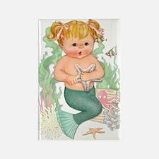 Little Mermaid Rectangle Magnet