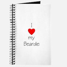 I Love My Beardie Journal