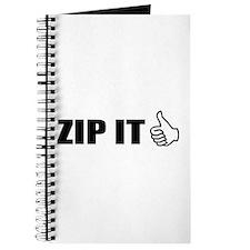 Zip It Journal