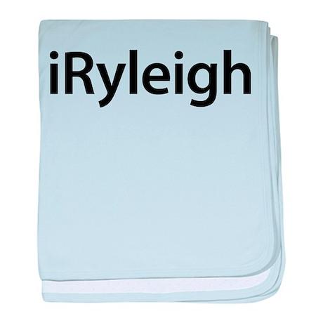 iRyleigh baby blanket