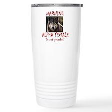 Funny Alpha Travel Mug
