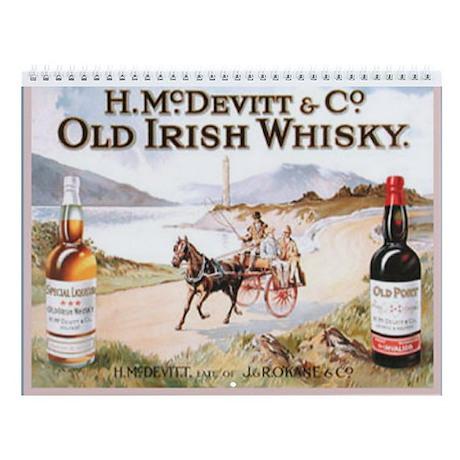 Irish Old Advertising Prints Wall Calendar