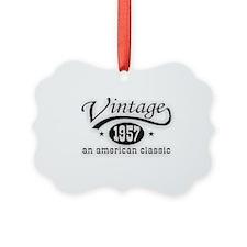 Vintage 1957 Ornament