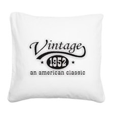 52.png Square Canvas Pillow