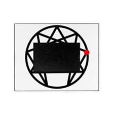 Enneagram 2 White.png Picture Frame
