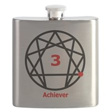 Enneagram 3 w text White.png Flask