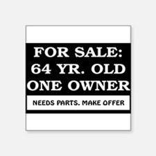 """AGE_for_sale64.png Square Sticker 3"""" x 3"""""""